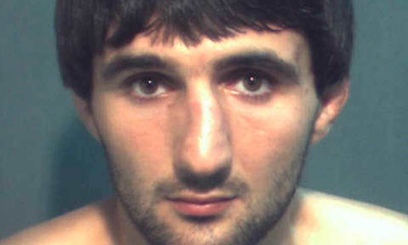 Ibragim Todashev is pictured in this undated booking photo courtesy of the Orange County Corrections Department. -Reuters Photo
