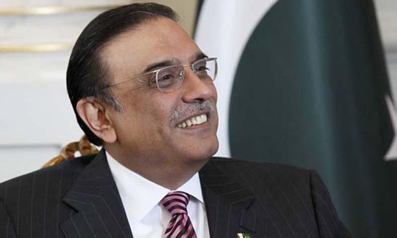 President Asif Ali Zardari. — File