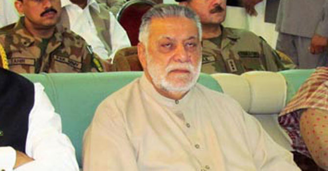 Former premier Mir Zafarullah Jamali. — Photo by Online