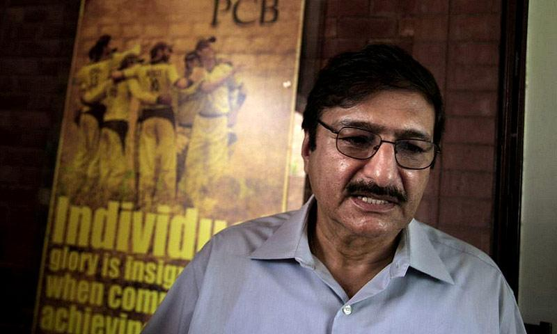 Zaka Ashraf. -File photo