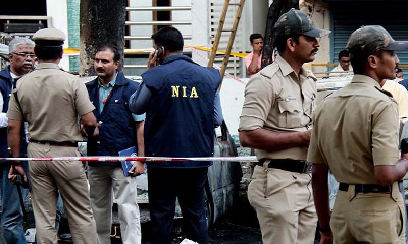 The National Investigation Agency, created after the 2008 Mumbai attacks to investigate terror-related crimes.   — File Photo by AFP