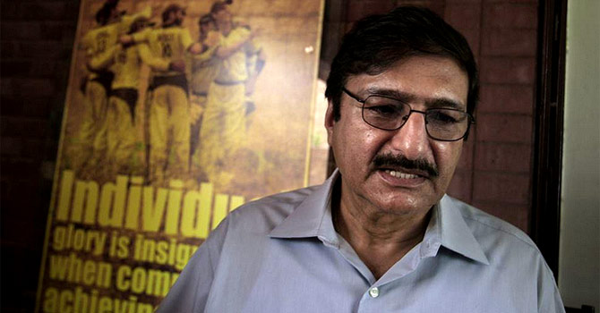 Zaka Ashraf. —  File Photo