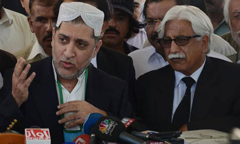Balochistan National Party (Mengal)c chief Sardar Akhtar Mengal.—File Photo