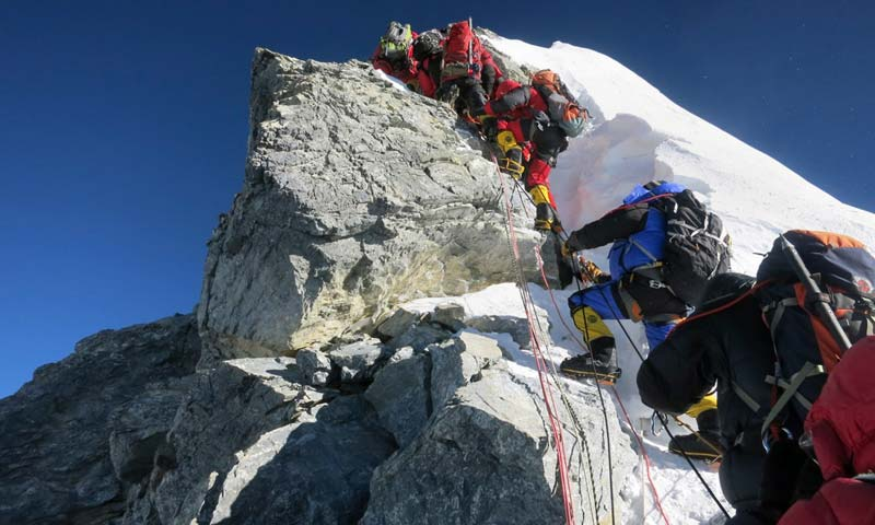 Nepal marks 60 years since Everest summit victory - World - DAWN COM