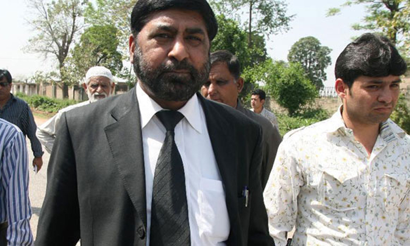 Several times before his tragic death,Chaudhry Zulfiqar told journalists about the threats he was receiving from unidentified people. — File Photo.