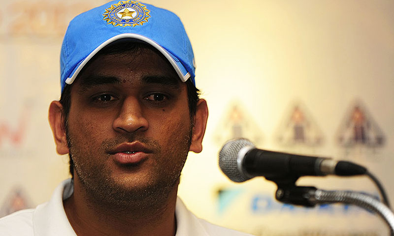 MS Dhoni. -File photo by AFP