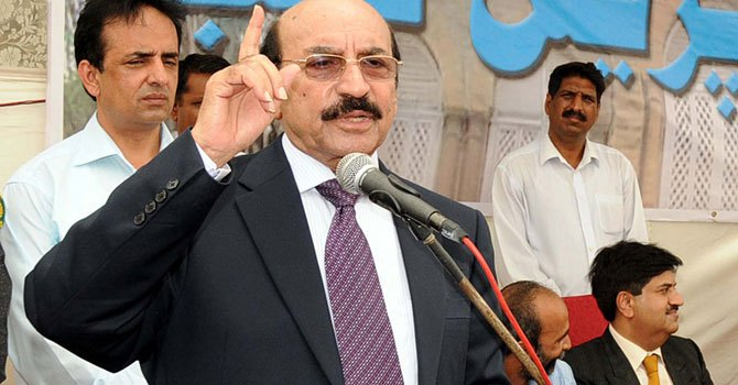 Chief Minister Sindh Syed Qaim Ali Shah. — Photo by APP/File