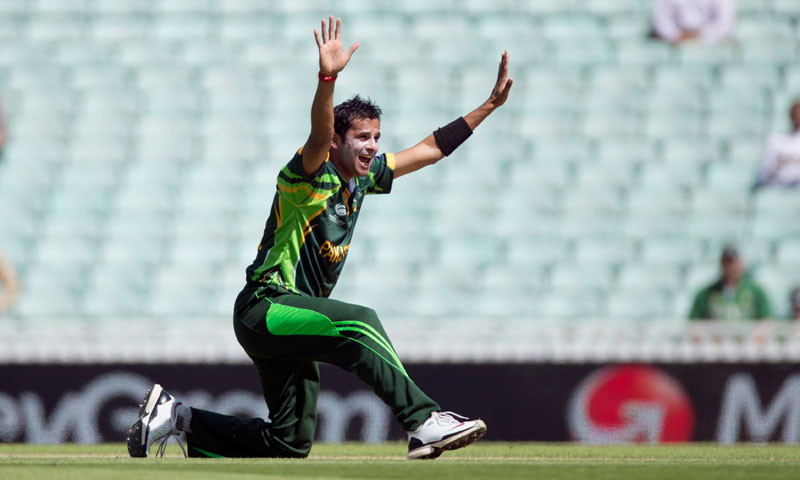 Pakistan's Asad Ali makes an unsuccessful wicket appeal — AP Photo