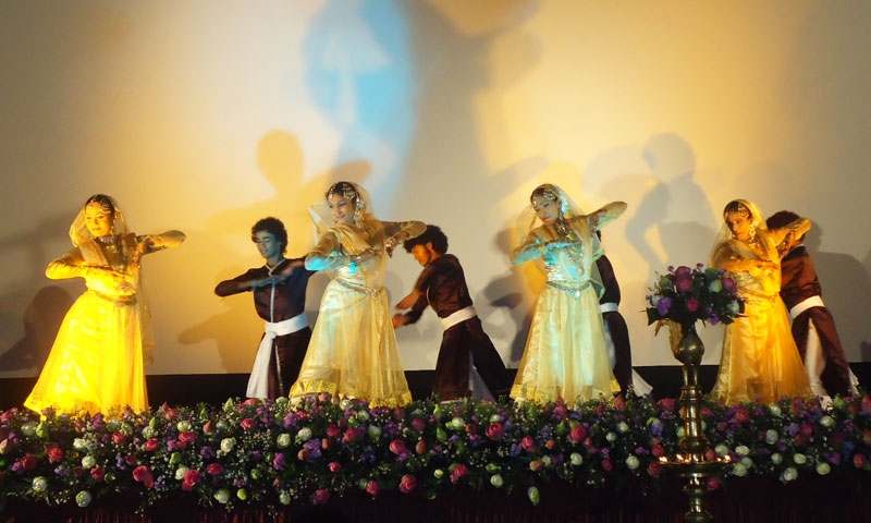 Cultural performance during the festival.