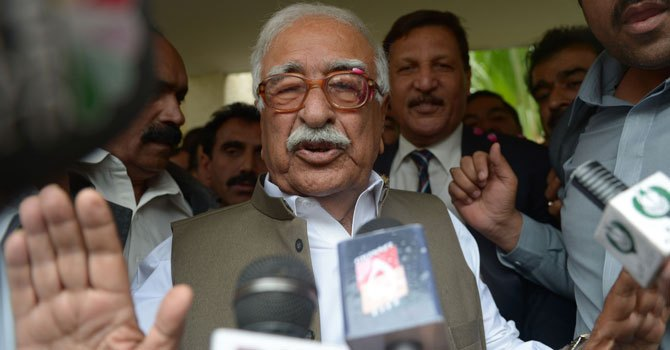 Caretaker Prime Minister Justice (retd) Mir Hazar Khan Khoso. – File Photo