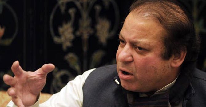 Nawaz Sharif will address four major issues in his inaugural speech as prime minister. -File Photo