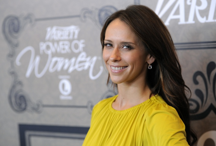 In a Friday Oct. 5, 2012 file photo, actress Jennifer Love Hewitt poses at Variety's 4th annual Power of Women event, in Beverly Hills, Calif. — AP Photo