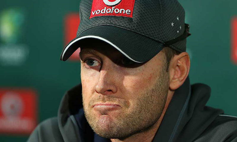 Michael Clarke. -Photo by AFP