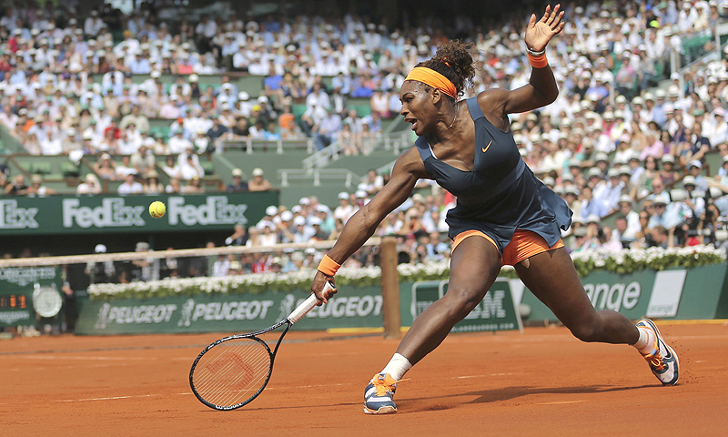 Williams was the strong favourite, having won 13 times for two defeats against Sharapova. -Photo by Reuters