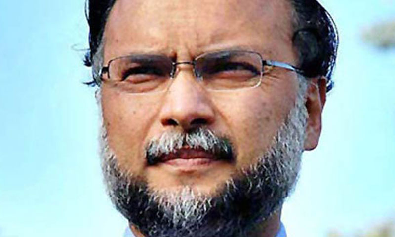 Pakistan Muslim League-Nawaz (PML-N) Minister for Planning and Development Ahsan Iqbal.—File Photo