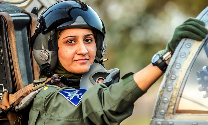 Pakistan's first war-ready female fighter pilot wins battle of sexes