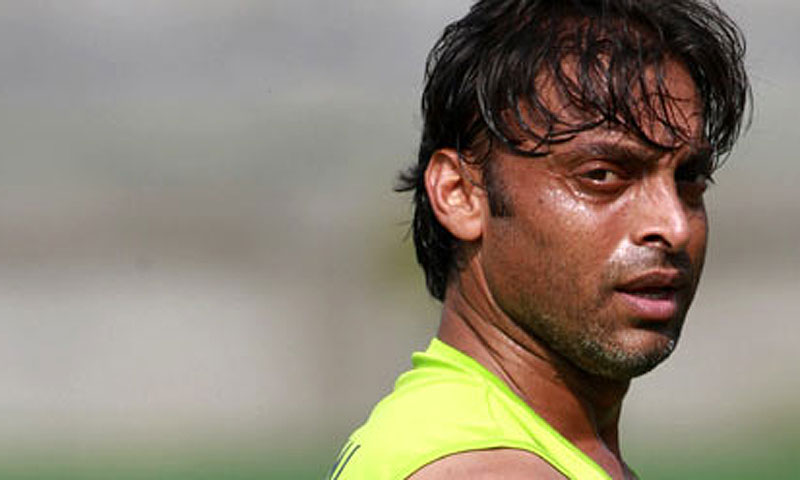 Shoaib Akhtar. -File photo