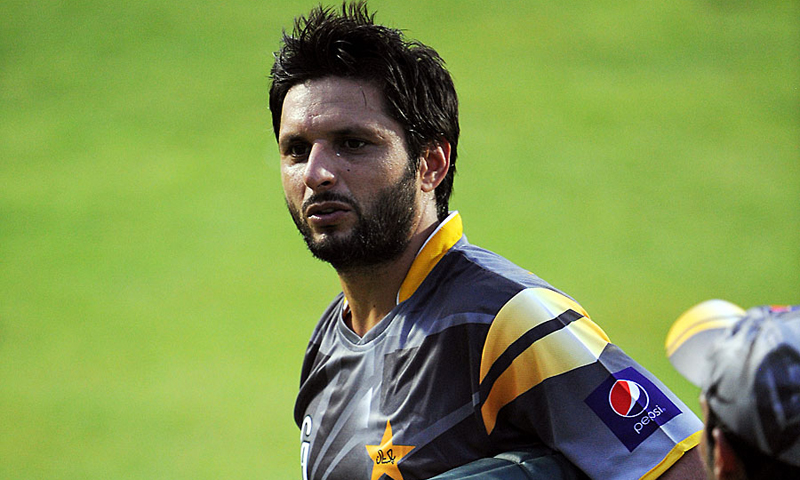 Afridi has scored 142 runs and taken just three wickets in nine One-Day Internationals (ODIs) in the last 12 months. -File photo by AP