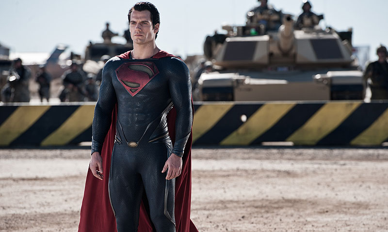 "Pictures shows Henry Cavill as Superman in ""Man of Steel.""-AP Photo"