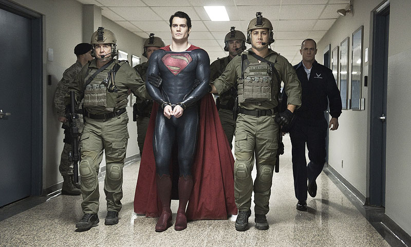Henry Cavill as Superman.-AP Photo