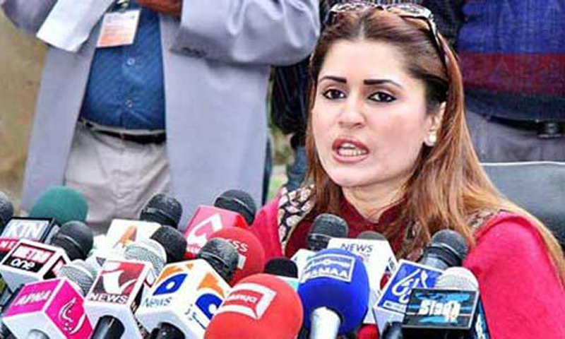 """What else one can expect from a party whose leaders are fond of wearing such expensive personal items,"" MNA Shazia Marri said in the National Assembly on Monday. — File Photo."