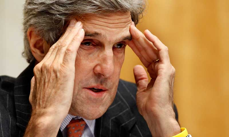 US Secretary of State John Kerry. — Photo by AFP/File