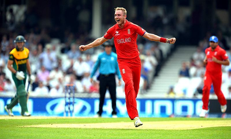 Seamer Stuart Broad and off-spinner James Tredwell claimed three wickets each. -Photo by AFP