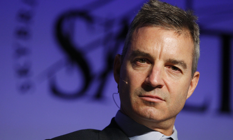 Daniel S. Loeb, Sony's largest shareholder, participates in a panel discussion during the Skybridge Alternatives Conference in Las Vegas, Nevada May 9, 2012. — Reuters Photo