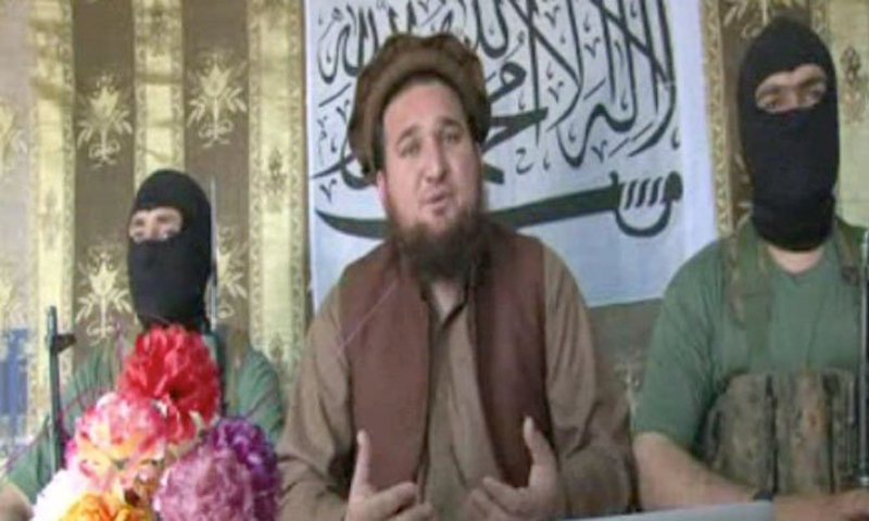 TTP spokesperson Ehsanullah Ehsan. — Youstube  Screengrab