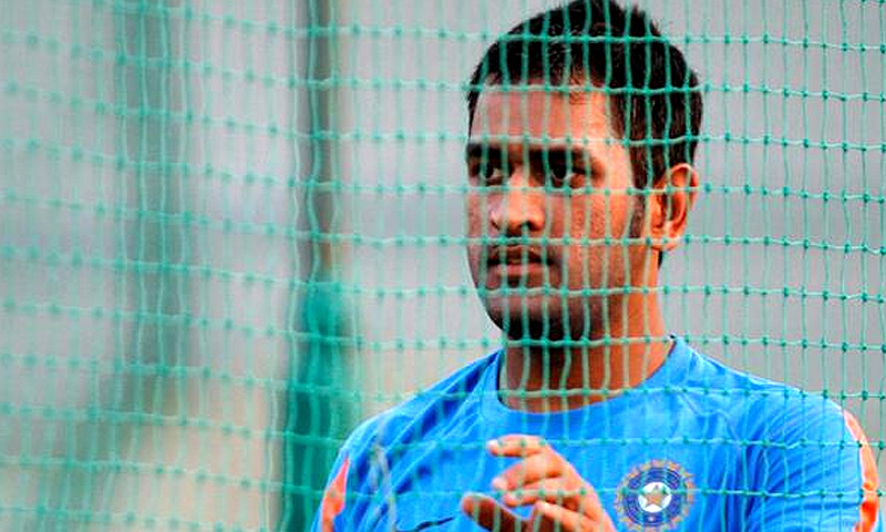 Dhoni insisted he was taking nothing for granted ahead of the world champions' clash with hosts England. -Photo by Reuters