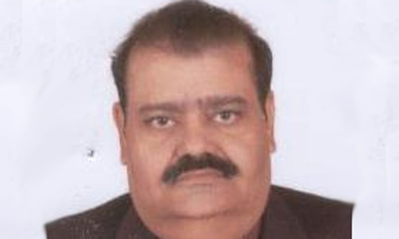 Photo of Muttahida Quami Movement provincial lawmaker Sajid Qureshi.