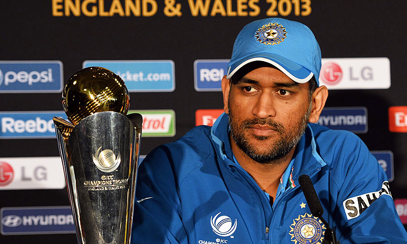 MS Dhoni. -Photo by AFP