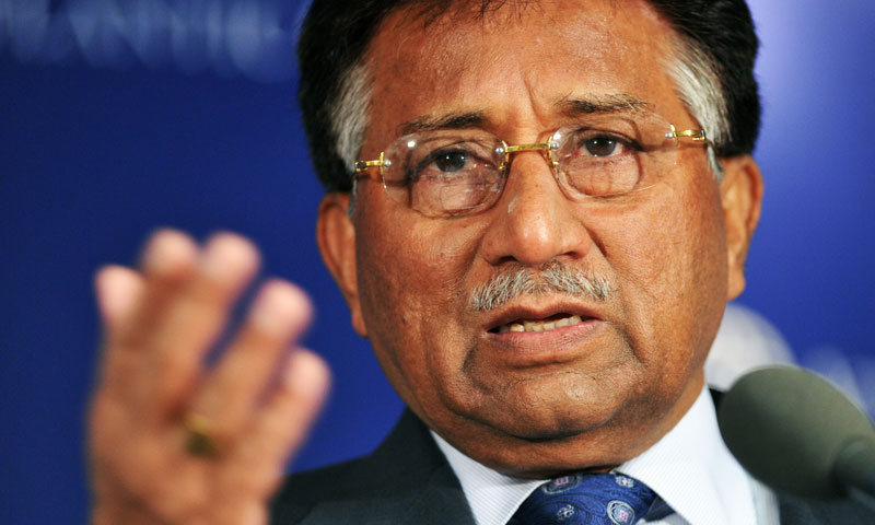 Former military dictator General (Retd) Pervez Musharraf.—File Photo