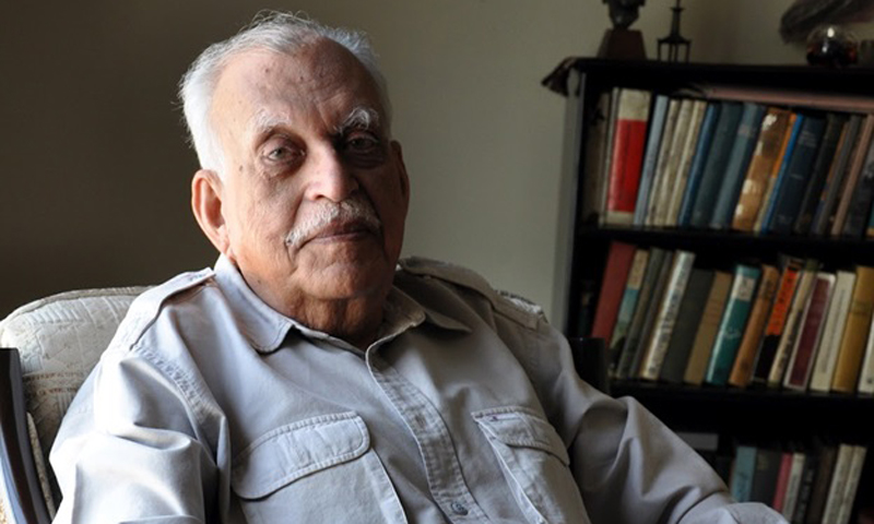 Jamil Ahmad, the author of The Wandering Falcon. Completed in the 1970s, the book would take three decades to get published.