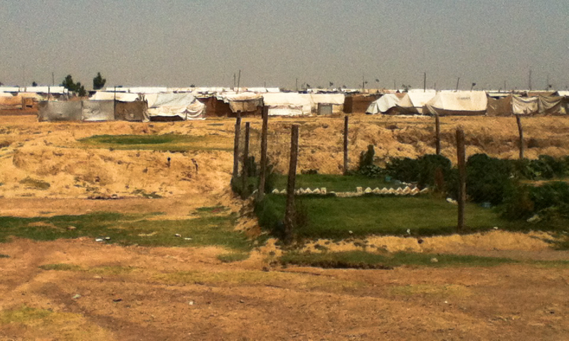 A view of the Jalozai camp.  — Photos provided by author.