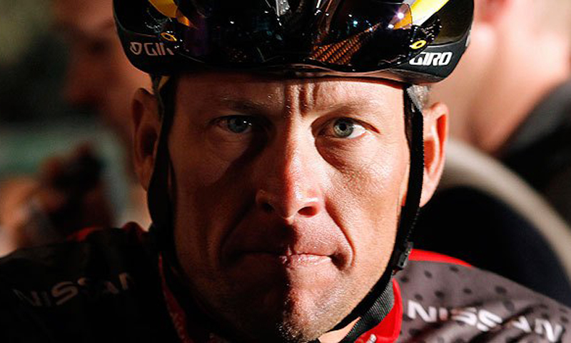 Lance Armstrong. -Photo by Reuters
