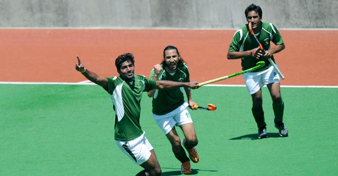Pakistan begin their WHL campaign against a tough Malaysian side today (16:00 PST). -Photo by AP