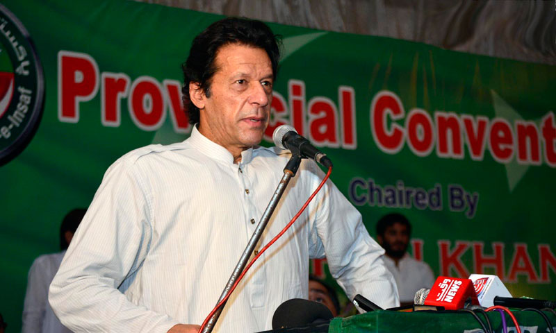 PTI chairman Imran Khan.—Online Photo