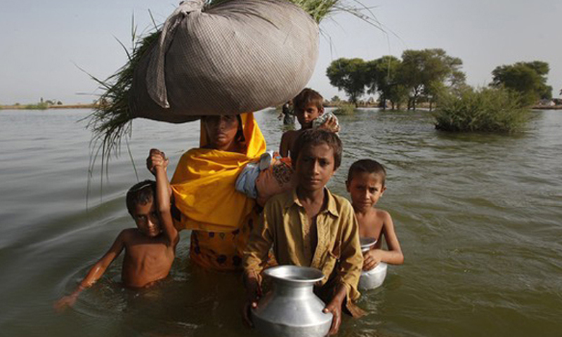 "Dr Pervaiz Amir, an environmental expert and member of the Prime Minister's Task Force on Climate Change, says Pakistan falls in the most vulnerable categories of the climate change but ""we are doing nothing to cope with the challenge."" — Reuters Photo."
