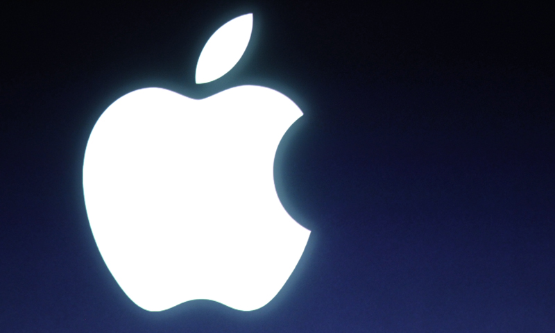 In this Tuesday, Oct. 4, 2011 file photo, an Apple logo is seen during an announcement at Apple headquarters in Cupertino, California. — AP Photo