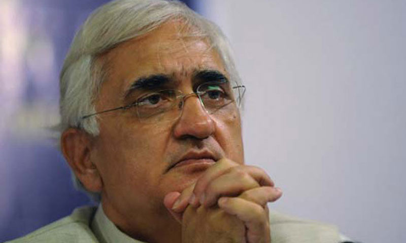 Indian External Affairs Minister Salman Khurshid.— File Photo