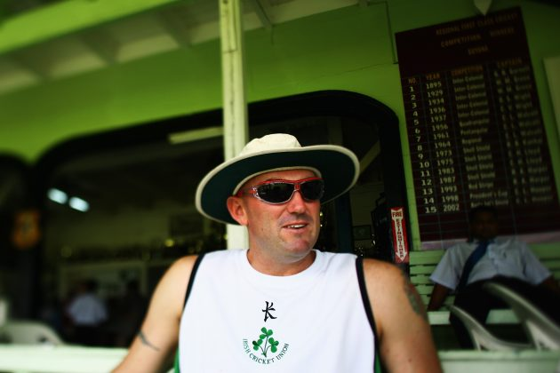 Ireland women's coach Jeremy Bray - Picture courtesy ICC