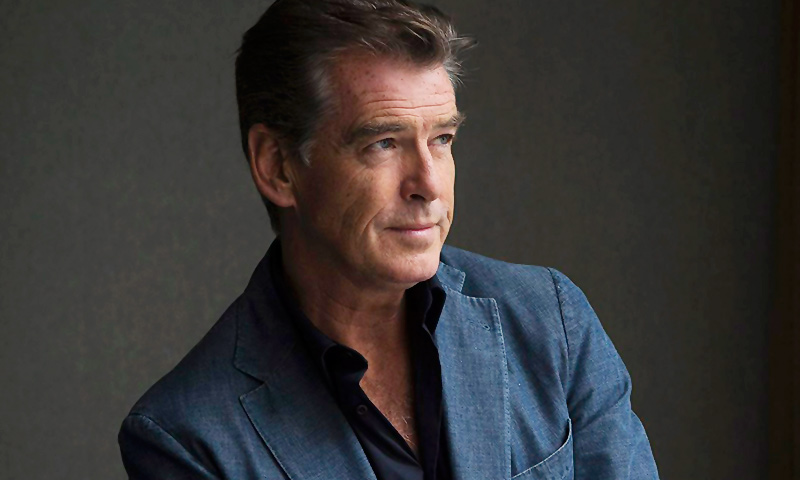 "Actor Pierce Brosnan during a photo shoot to promote the movie ""Love is All You Need"" at the 2012 Toronto International Film Festival in Toronto.— AP Photo"