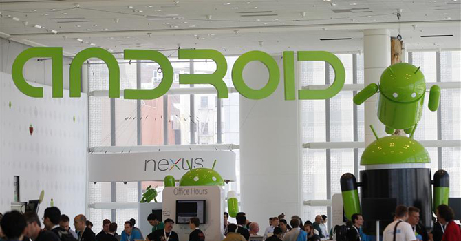 Android Developers Conference 28 june 2012. — Reuters Photo