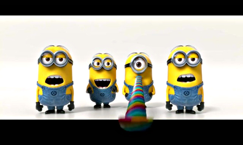 The minions are pictured in a teaser trailer  from the movie 'Despicable Me 2'. — Courtesy Photo