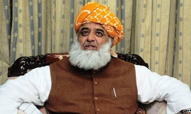JUI-F chief Maulana Fazlur Rehman.—File Photo