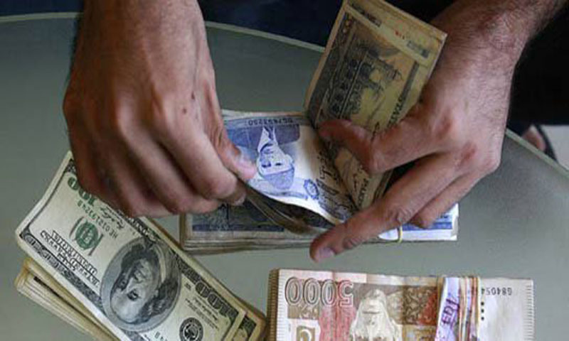 A trader counts Pakistani rupees- FIle Photo