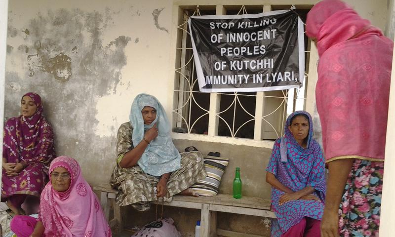 A view of the refugee camp near the Shah Guryo shrine. — Photos by author.