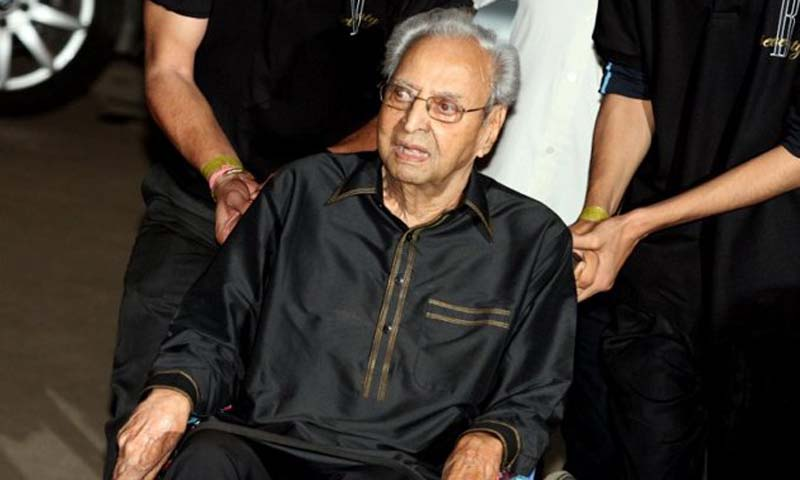Pran was best known for his roles as a villain from 1942 to 1991 in movies such as ''Zanjeer'' (Shackles), ''Bari Behen'' (Elder Sister), Azaad (A Free Man) and ''Johnny Mera Naam'' (Johnny Is My Name).    — File Photo by AFP