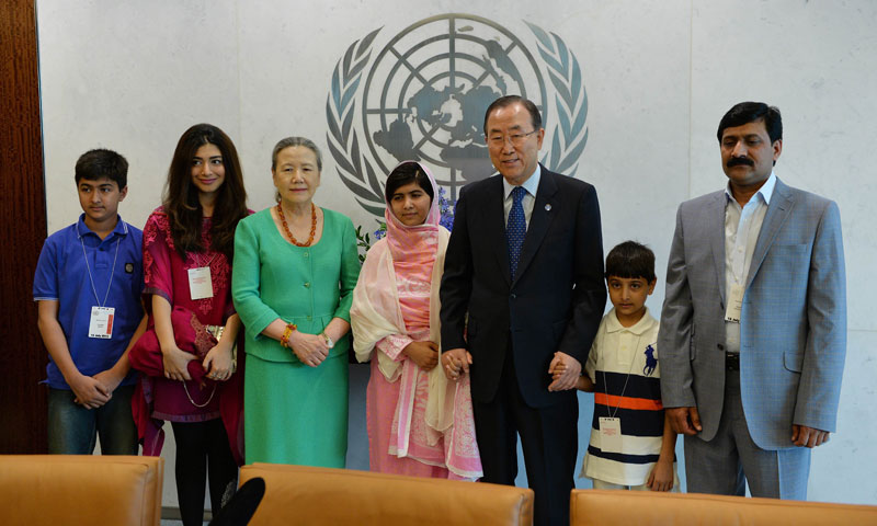 Books & pens are our main weapons, says Malala - Newspaper